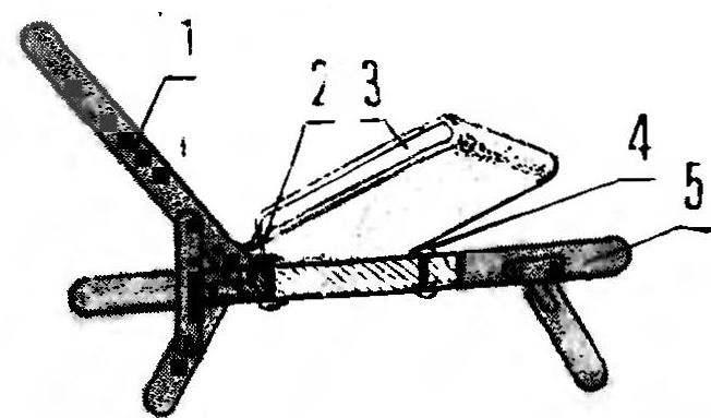 Рис.3. Кресло в сборе