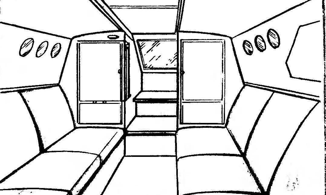 Так выглядит салон «Тритона»
