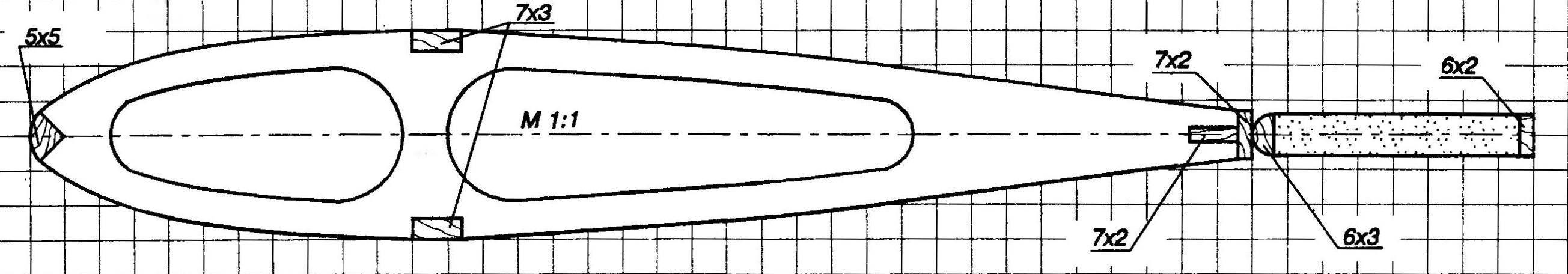 Профиль крыла с закрылком
