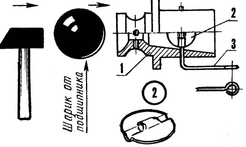Доработка штатной футорки карбюратора двигателя КМД и моитаж воздушной заслонки