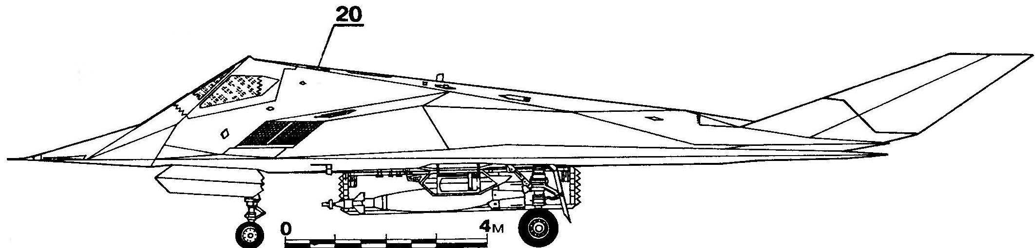 ВИДИМЫЙ НЕВИДИМЫЙ САМОЛЕТ («ЛОКХИД» F-117А)
