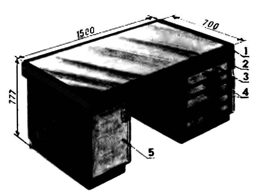 Письменный стол классического стиля