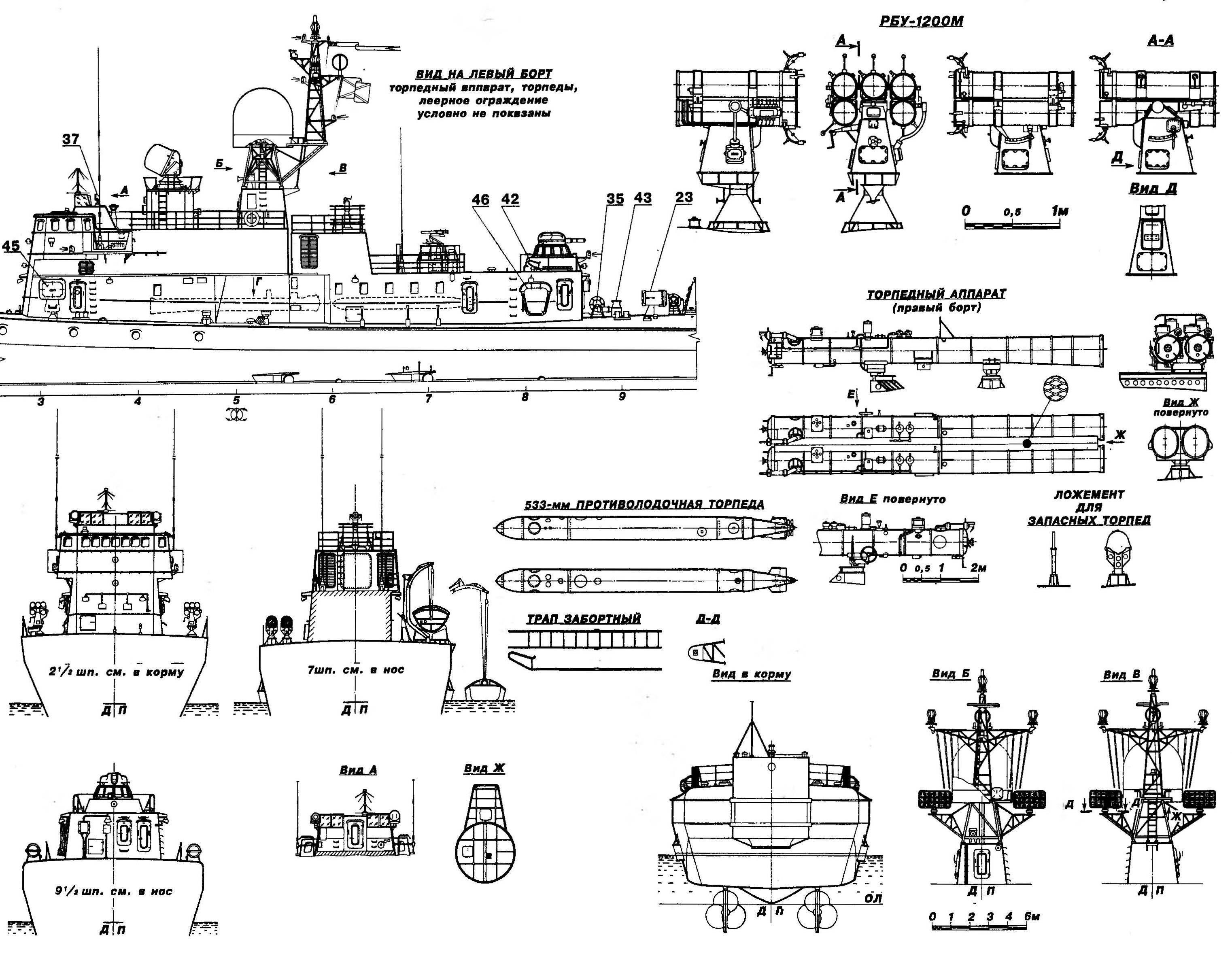 Малый противолодочный корабль пр.1241ПЭ