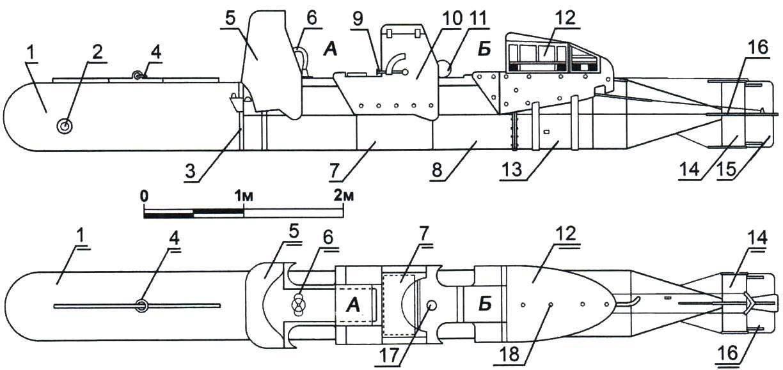 Человеко-торпеда SLC