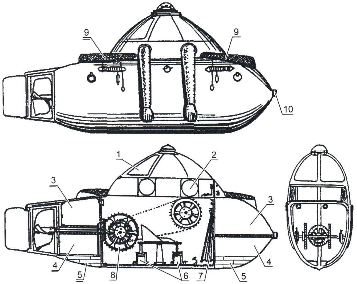 Субмарина № 2 К. Дешана