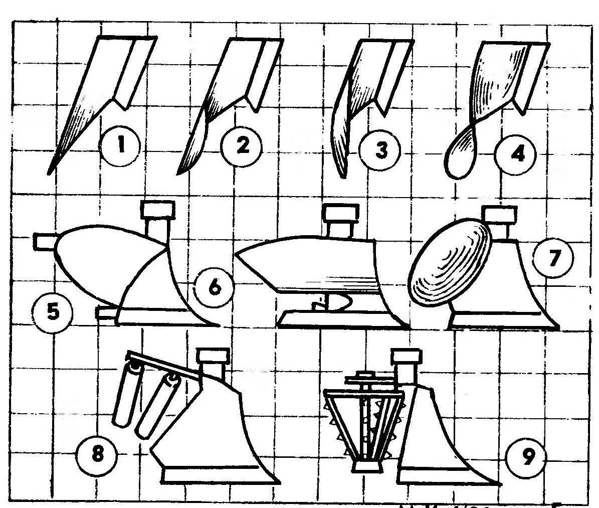 R and p. 2. Varieties jointers-dump surfaces and plough bodies