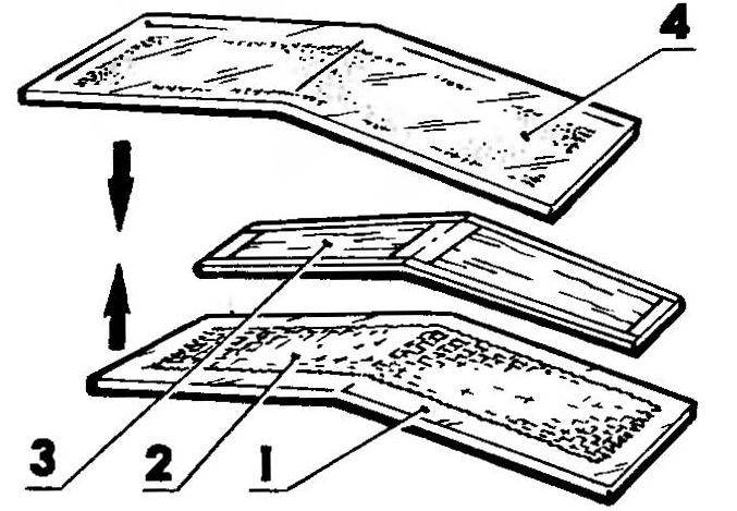 Рис. 6. Технология изготовления стабилизатора