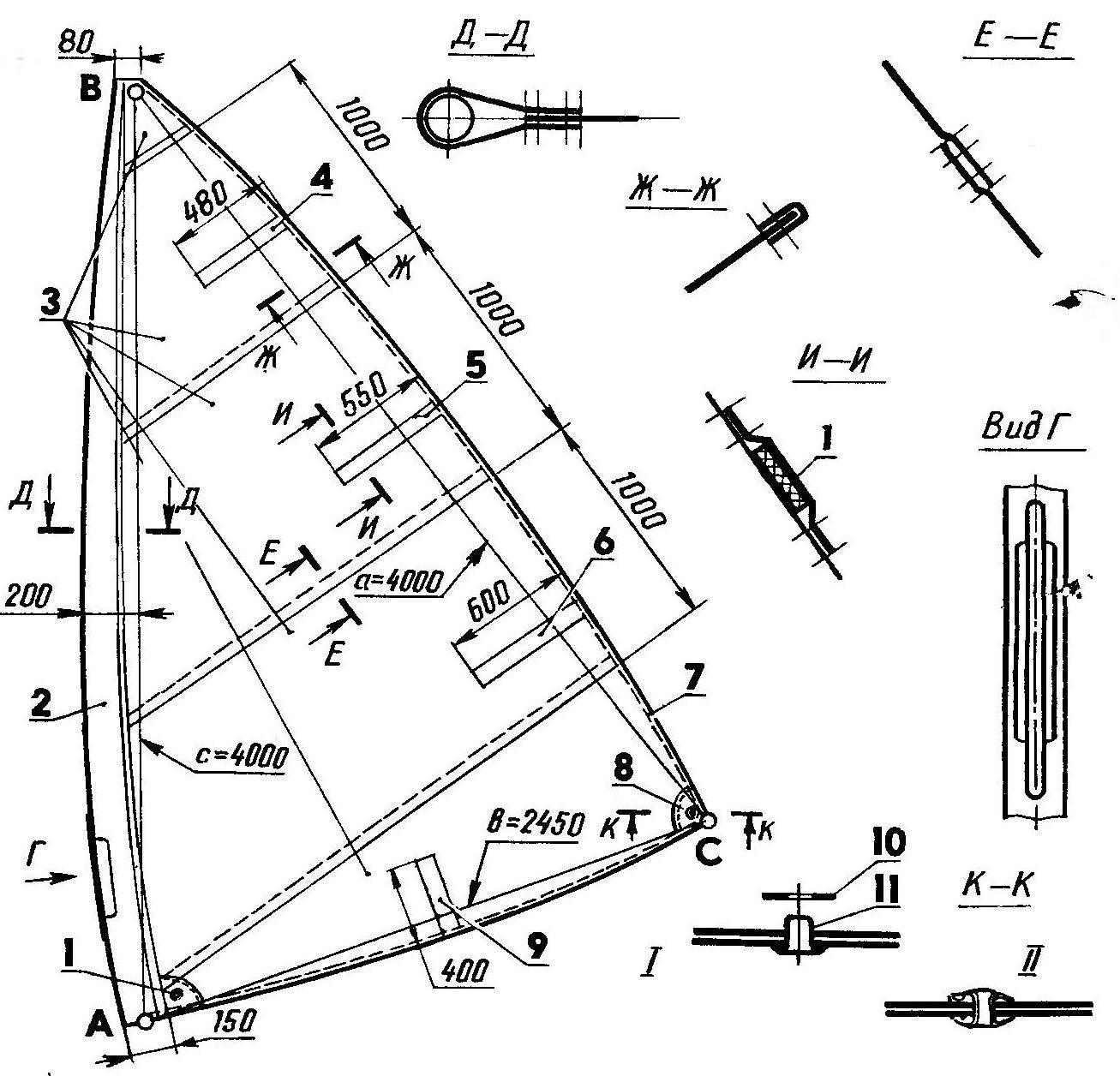 Р и с. 4. Парус