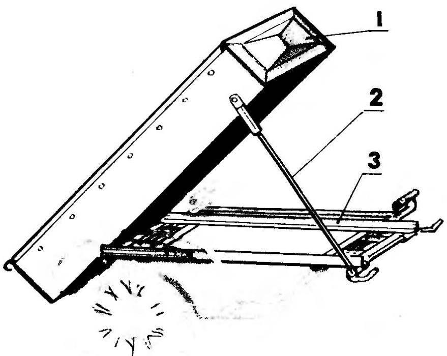 4. Схема сборки грузового