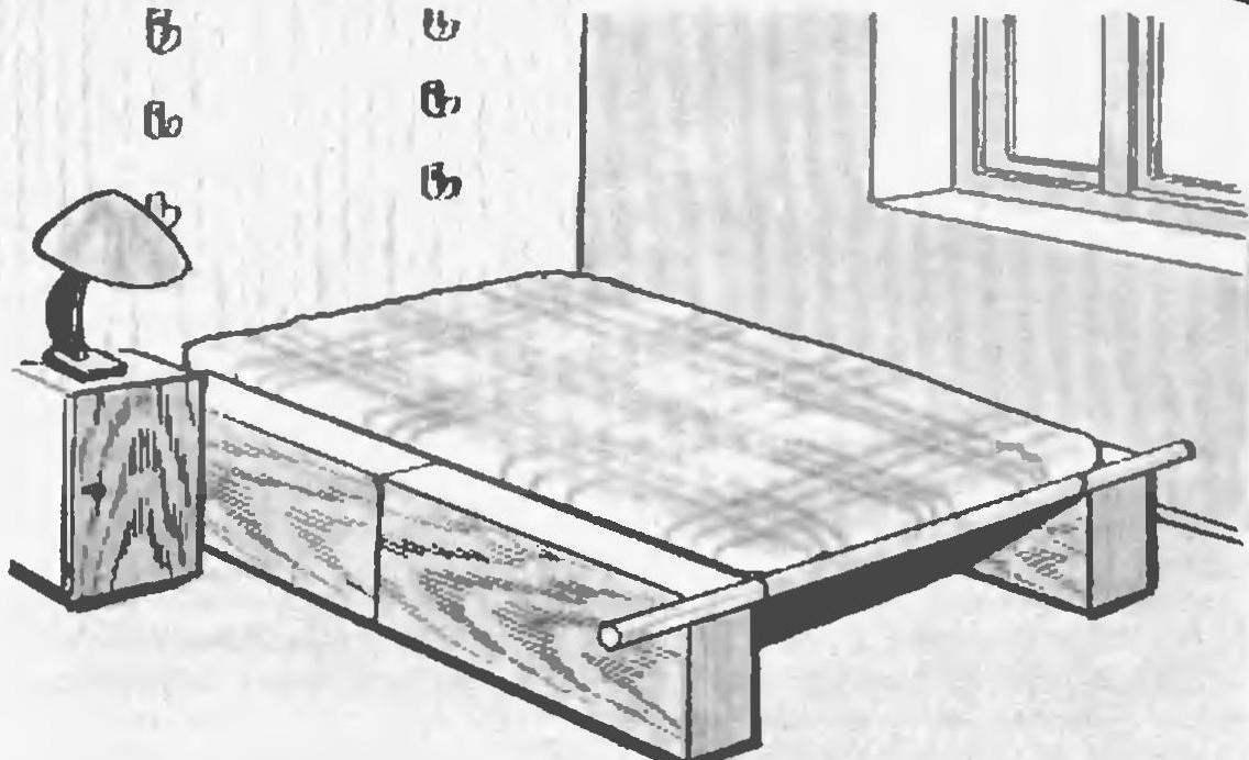Раскладной диван для кухни своими руками чертежи 9