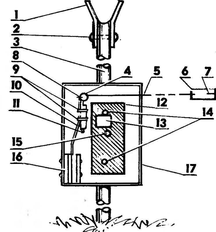 Р и с. 5. Конструкция датчика