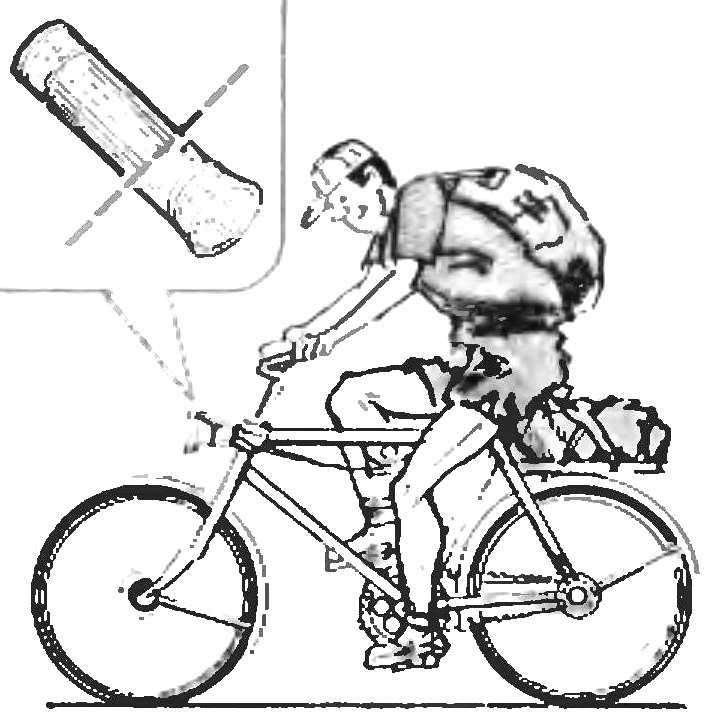 BICYCLE FLASHLIGHT -FLASHLIGHT