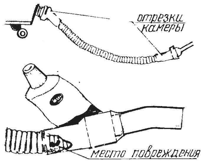 С ВЕЛОСИПЕДА -НА ПЫЛЕСОС