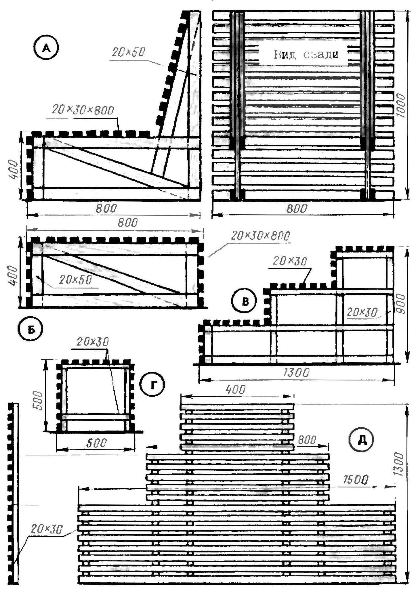 Комплект дачной мебели