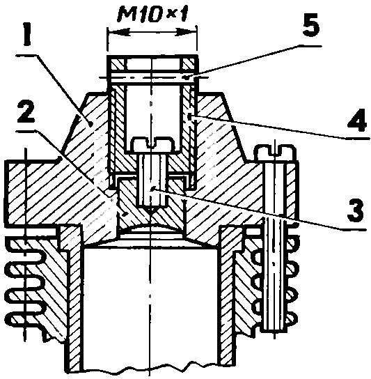 Самодельная дизельная головка переделанного КМД