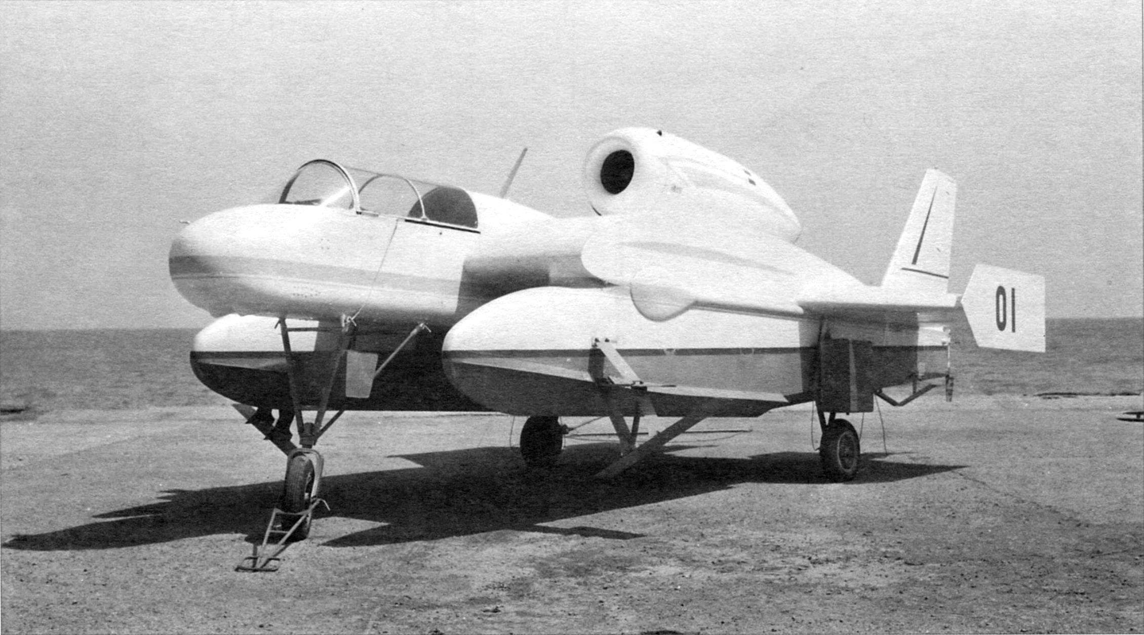 Be-1 for erratic chassis