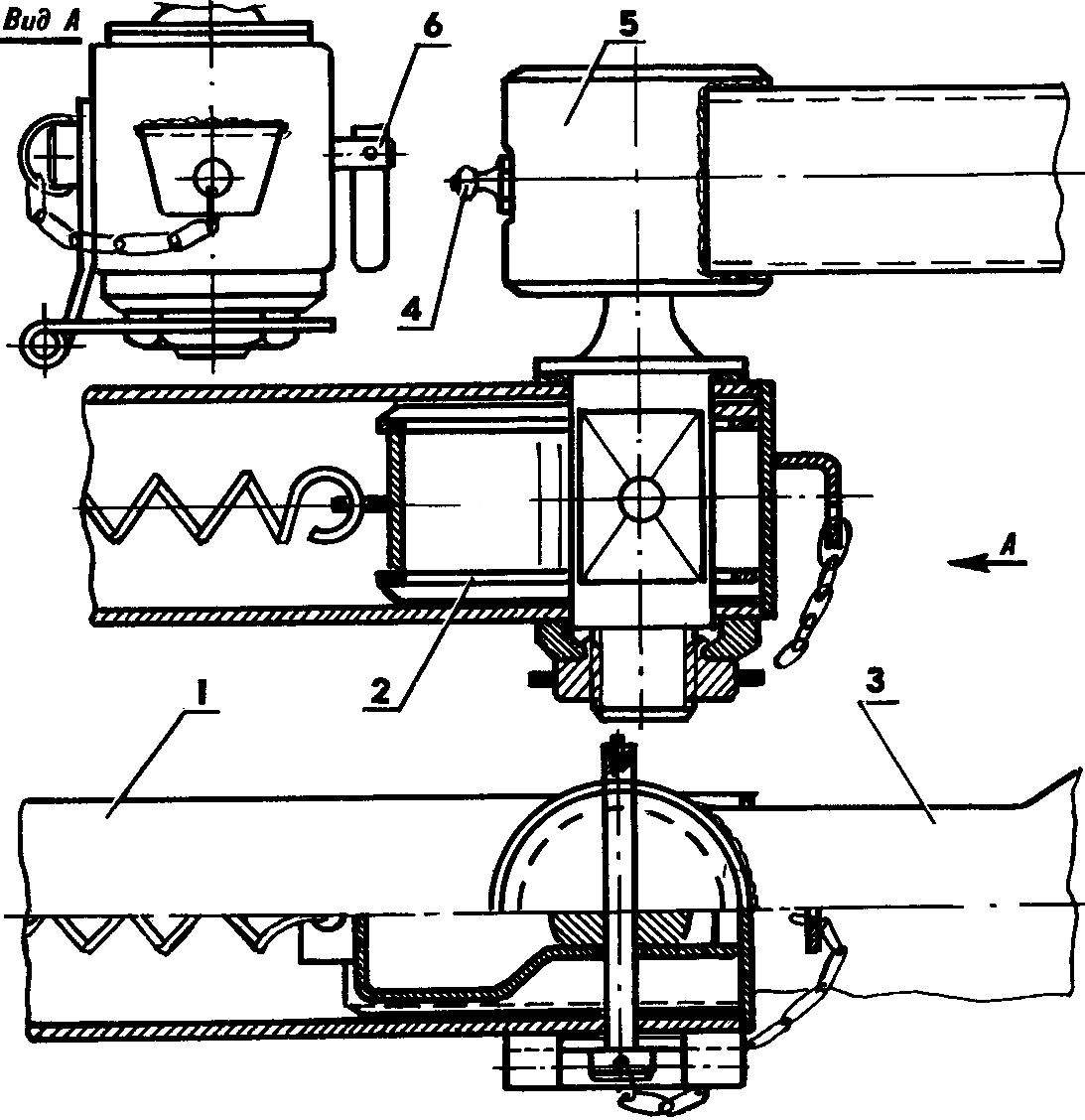 Design of the coupling node
