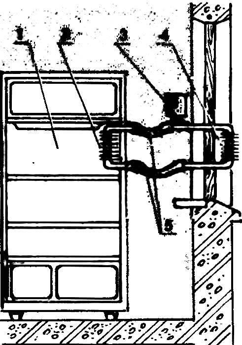 Модернизация бытового холодильника с помощью жидкостного охлаждения холодильной камеры