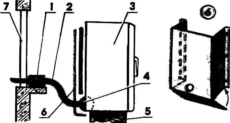 Способ повышения экономичности холодильника за счет охлаждения конденсатора и компрессора уличным воздухом