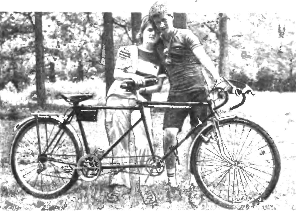 TANDEM - A BICYCLE BUILT FOR TWO