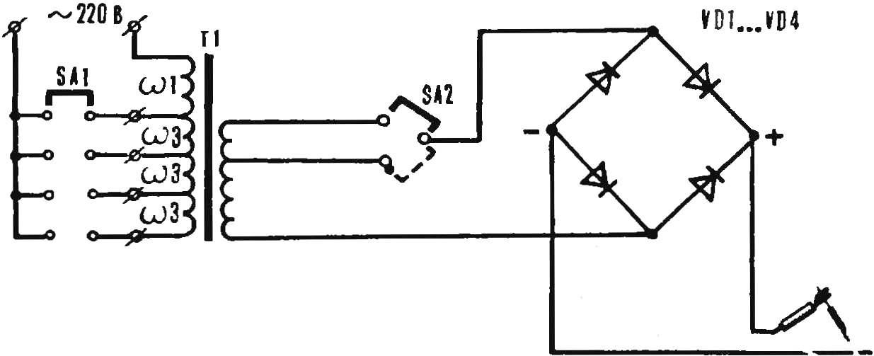 Рис. 5. Сварочный аппарат постоянного тока.