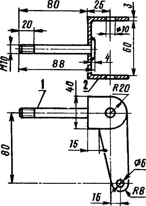 Рис. 5. Поворотный кулак переднего моста