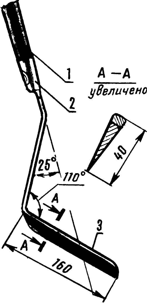 Рис. 2. Рыхлитель-косорез.