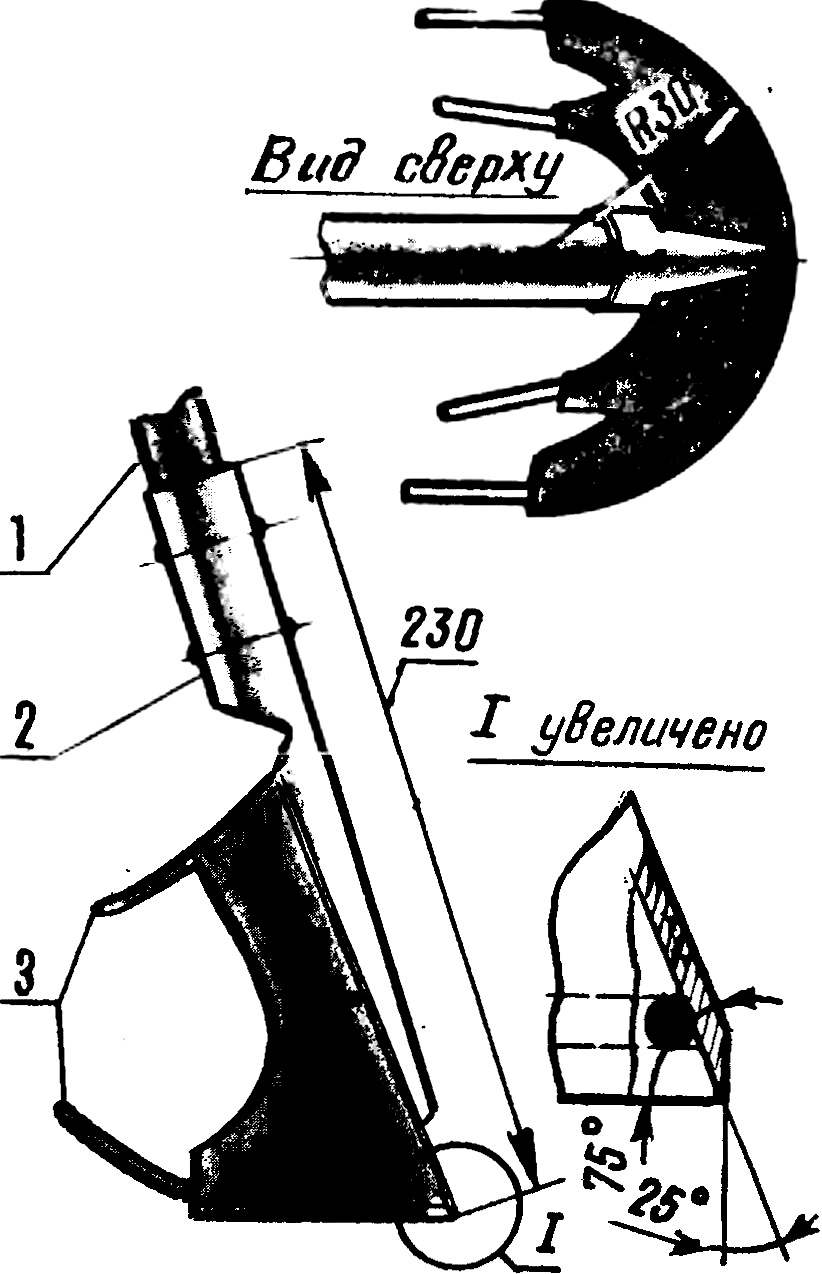 Fig. 3. Curly cutter.
