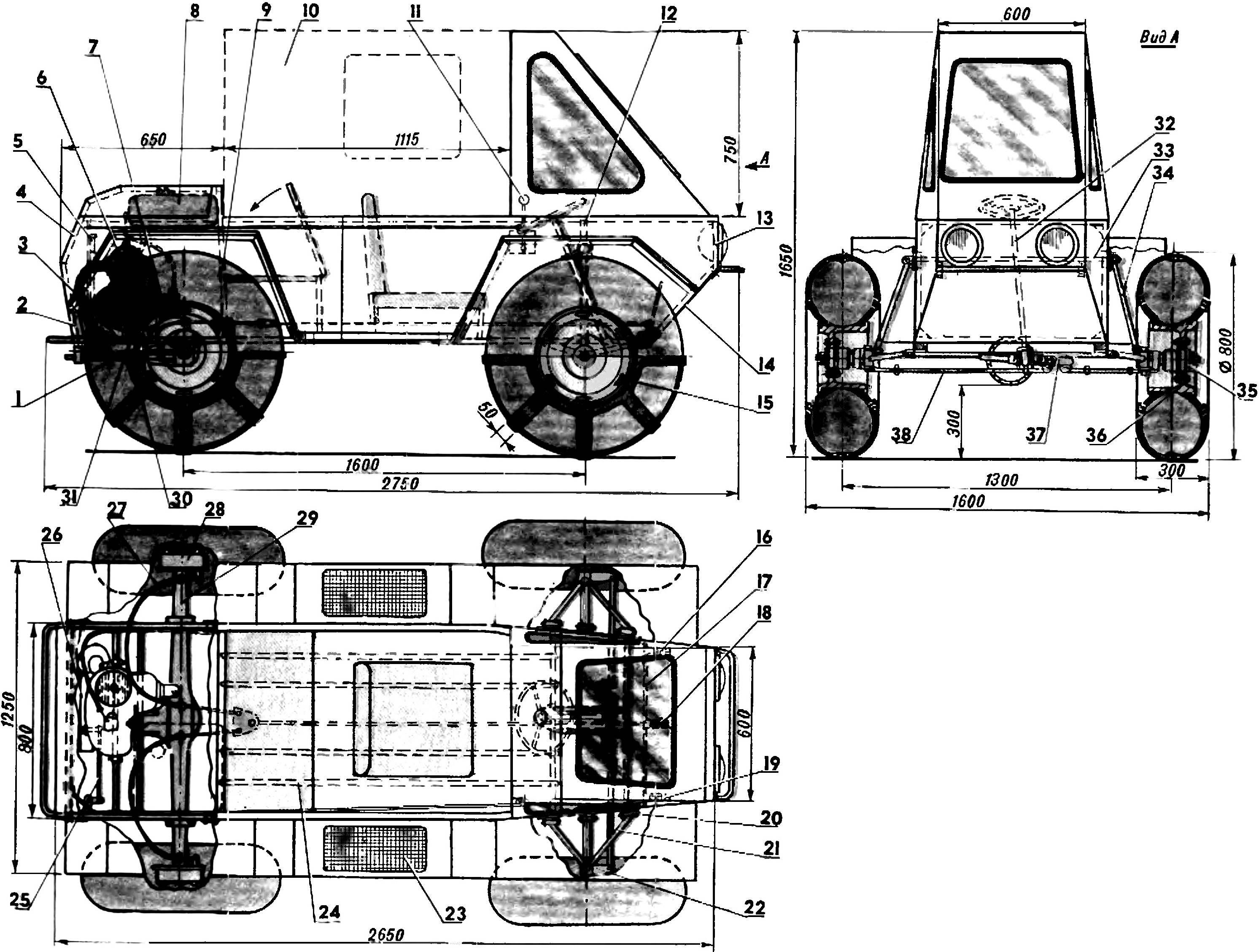 Fig. 1. All Terrain Vehicle