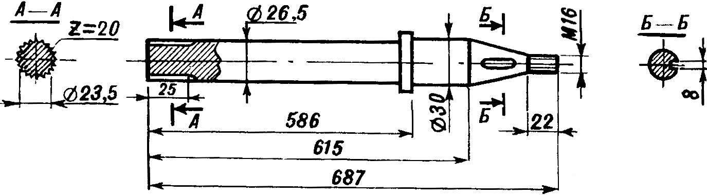 Fig. 10. Axle rear axle.