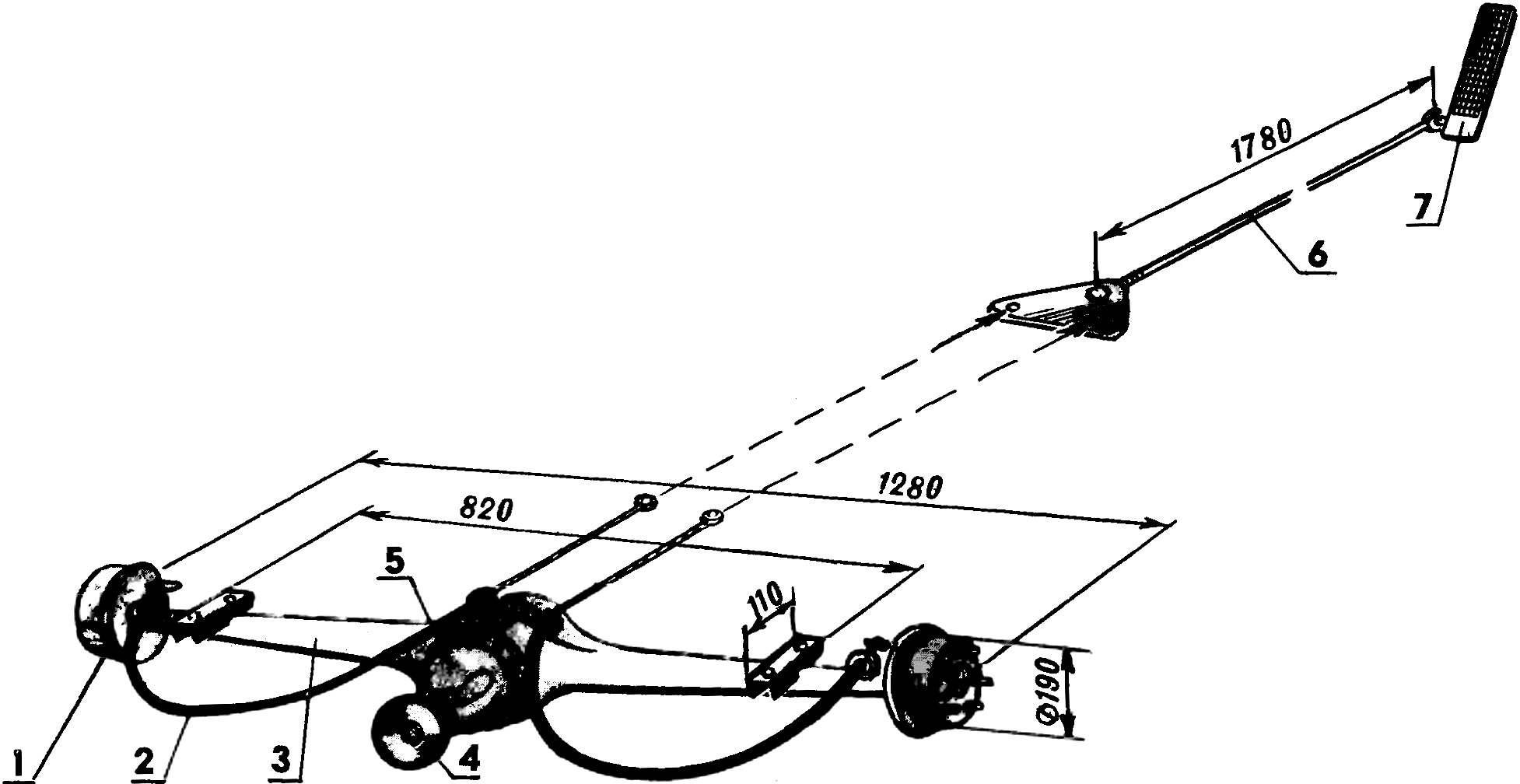 Fig. 4. Rear axle.