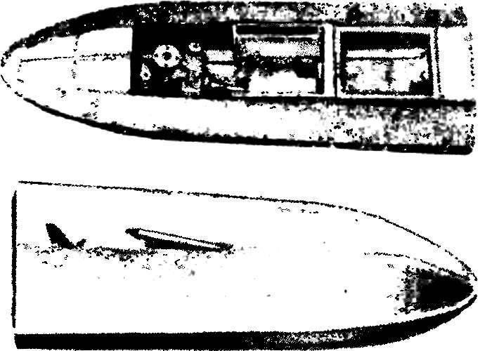 Готовая модель «Дельфиненок» перед окраской.