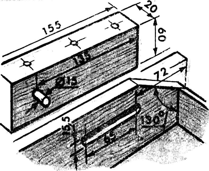 Устройство выдвижных ящиков для столовых приборов и кухонных мелочей.