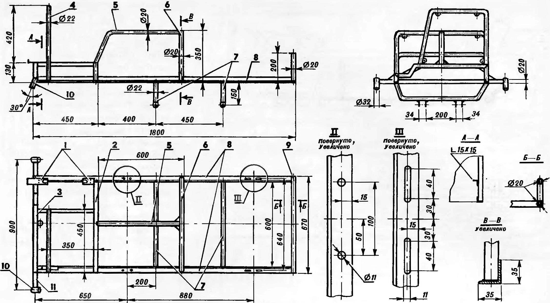 Fig. 2. Frame.