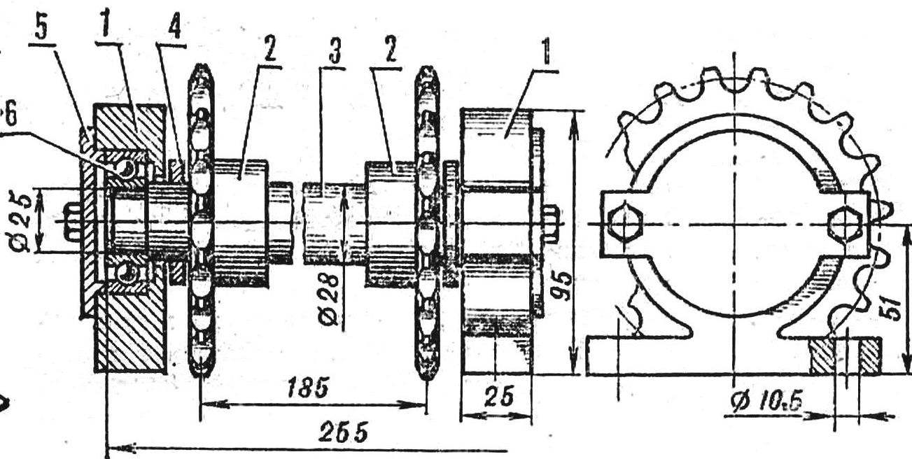 Intermediate shaft Assembly