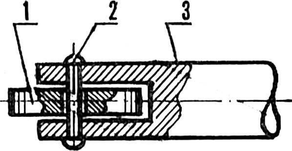 Рис. 3. Приспособление для сварки полиэтиленовой пленки.