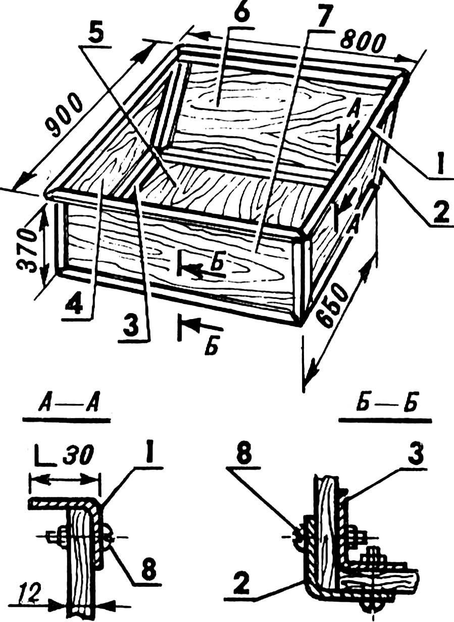 Fig. 3. The body of malogruzovaja.