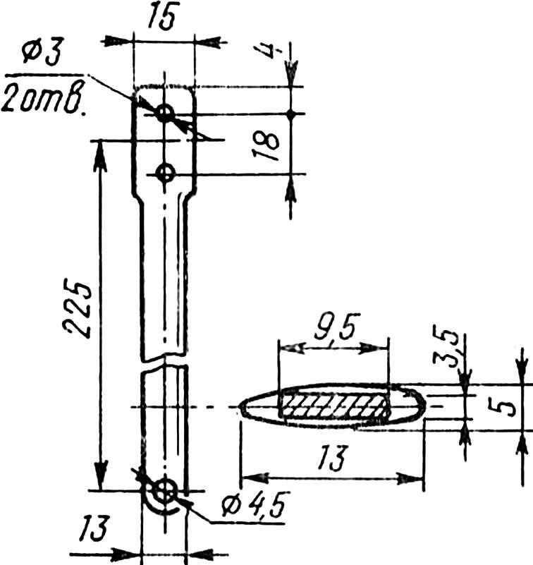 Кордовая планка (Д16Т).