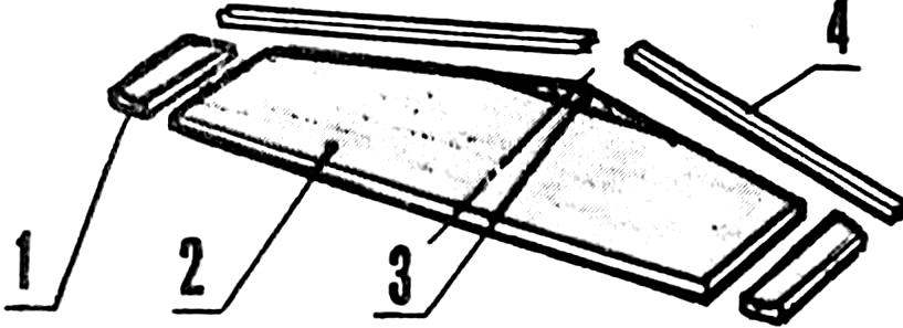 Конструкция стабилизатора в первоначальном варианте.