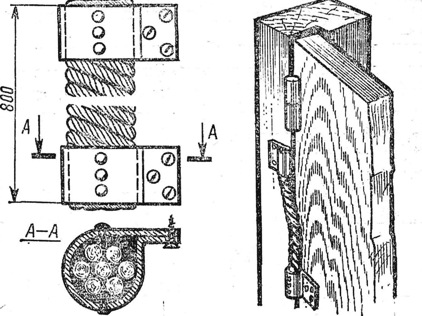 Как сделать пружину для двери 39