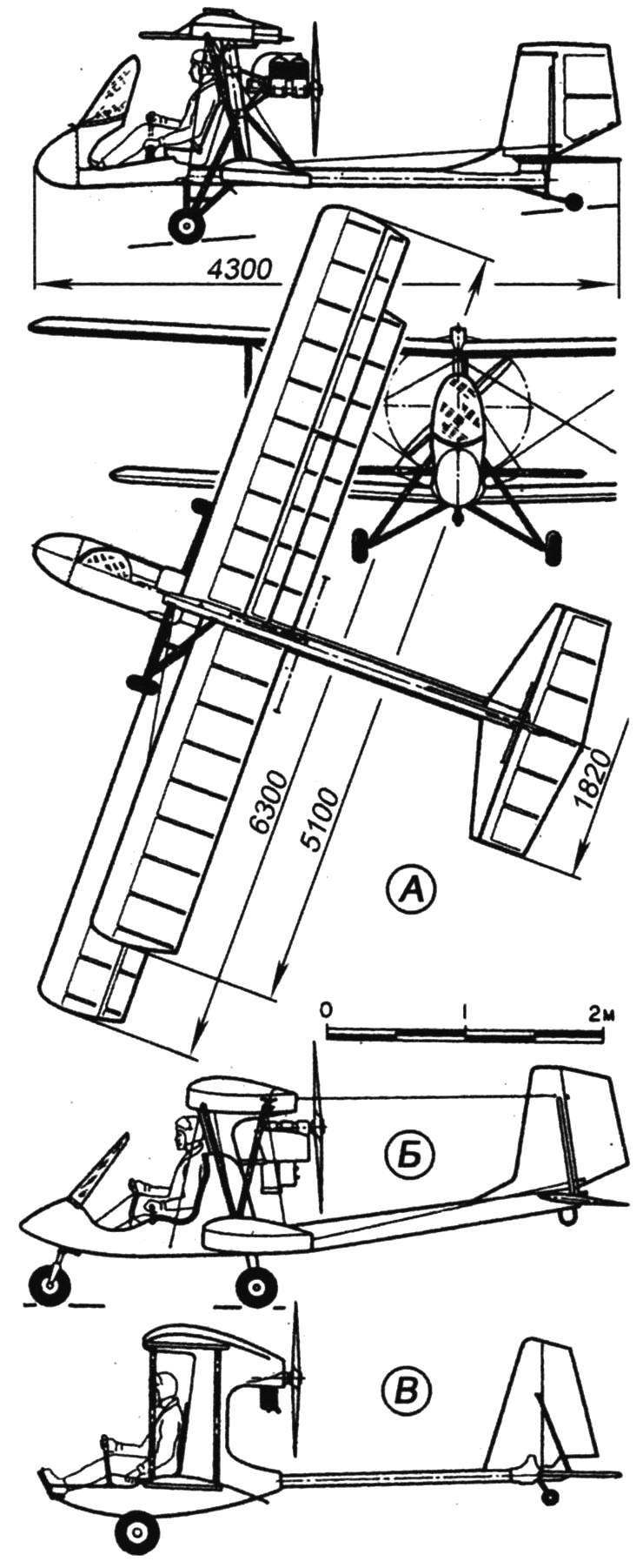 Одноместные самолёты-бипланы