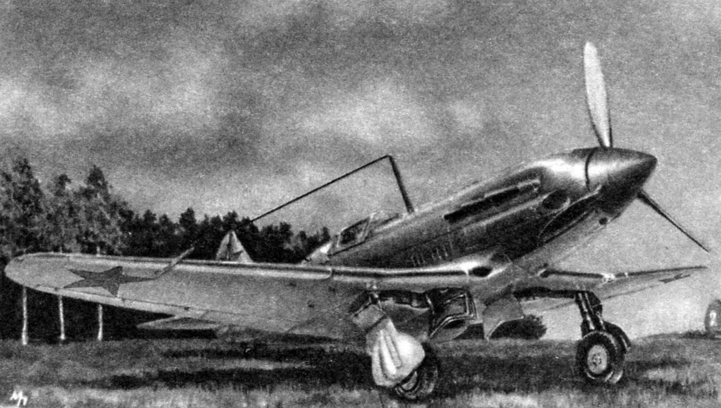 Самолёт-истребитель МиГ-3