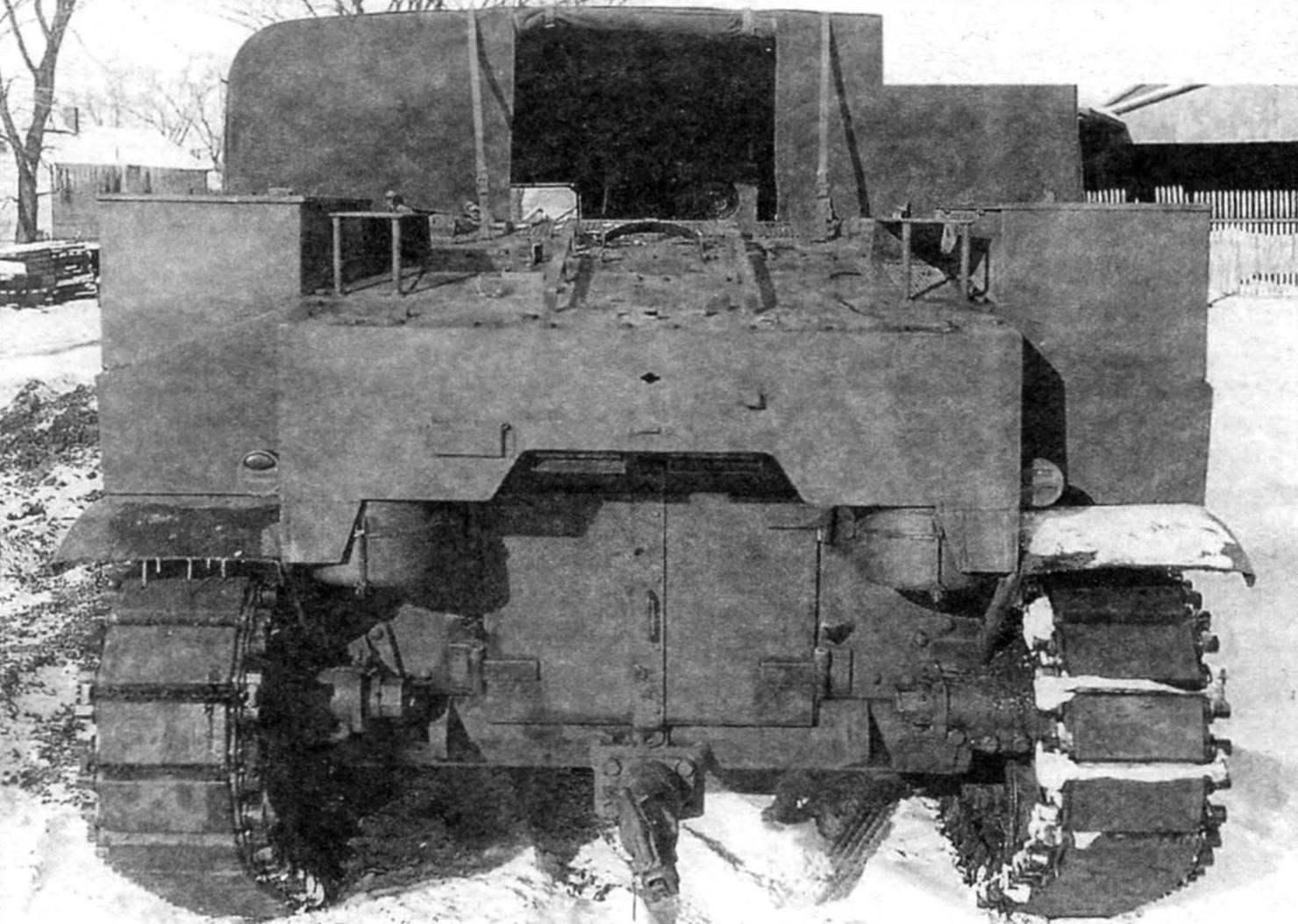 САУ М7. Вид с кормы
