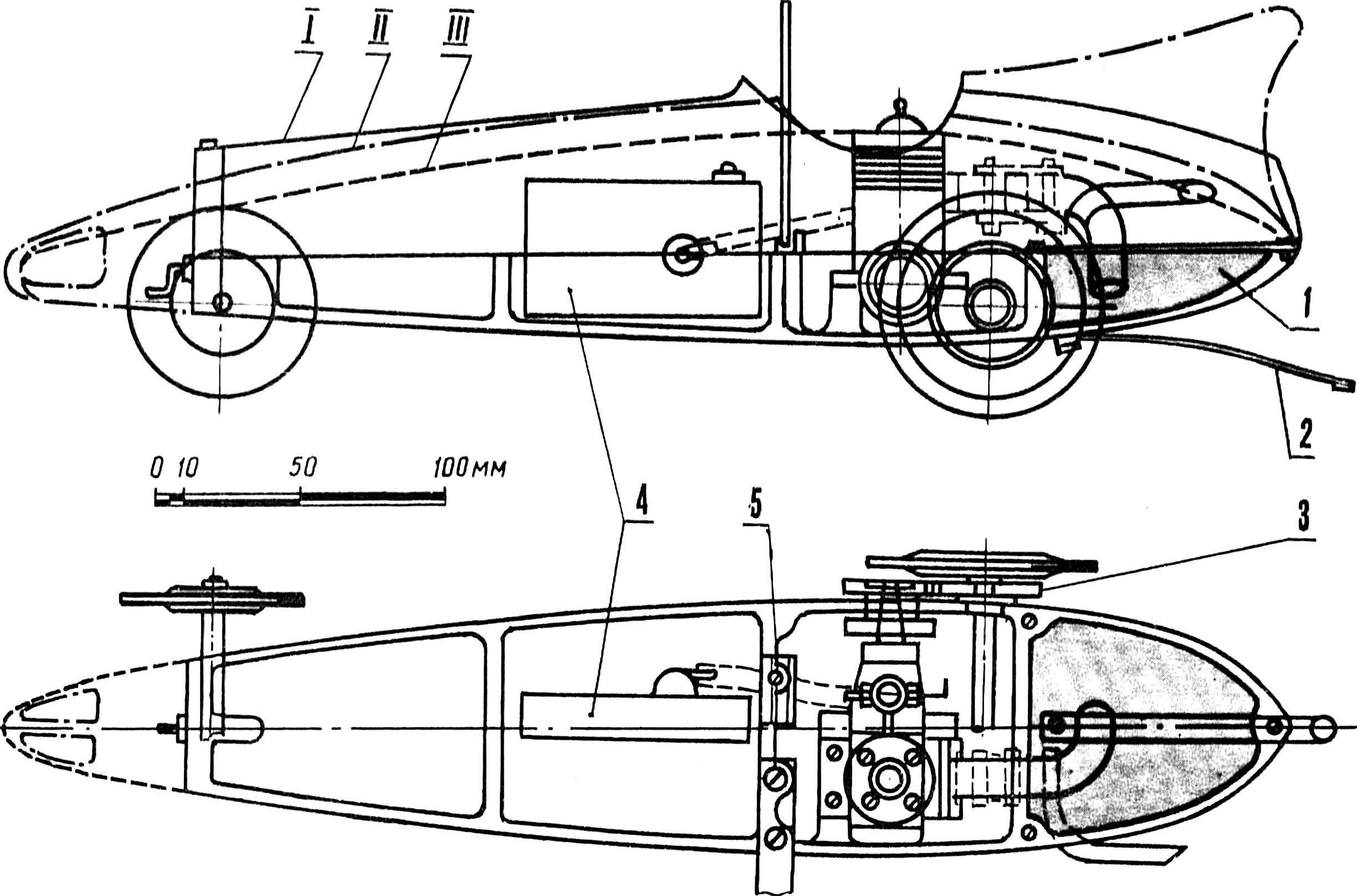 Рис. 1. Схема модели класса Е-5.