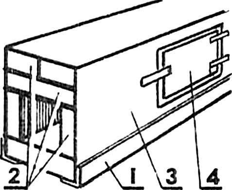 Flue pipe (reversible sleeve).