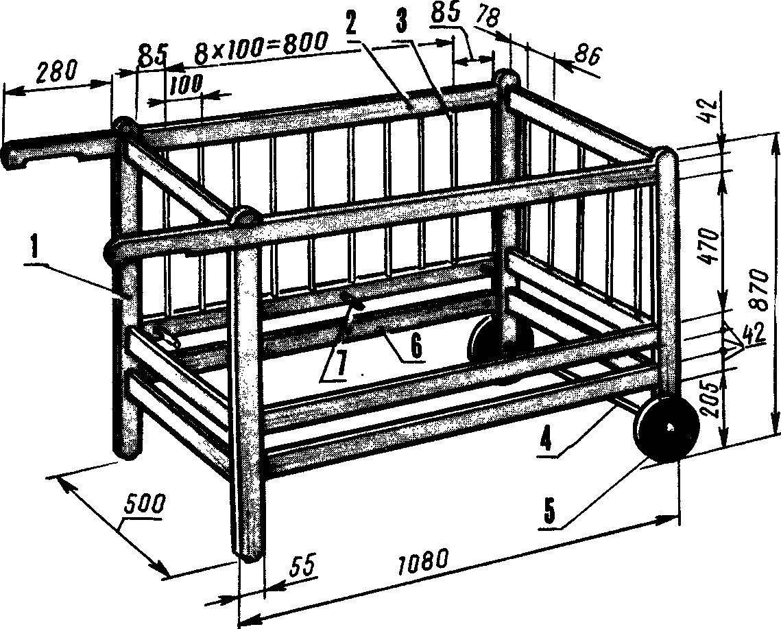 Кровать для малышей.