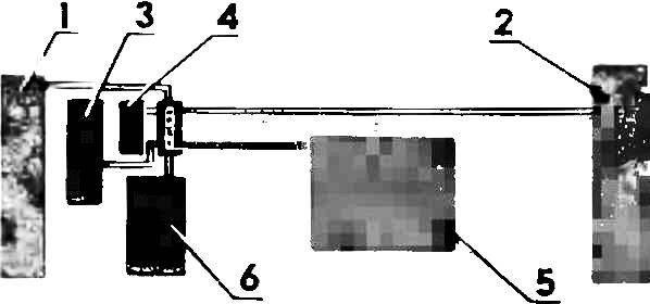 Блок-схема электрооборудования.