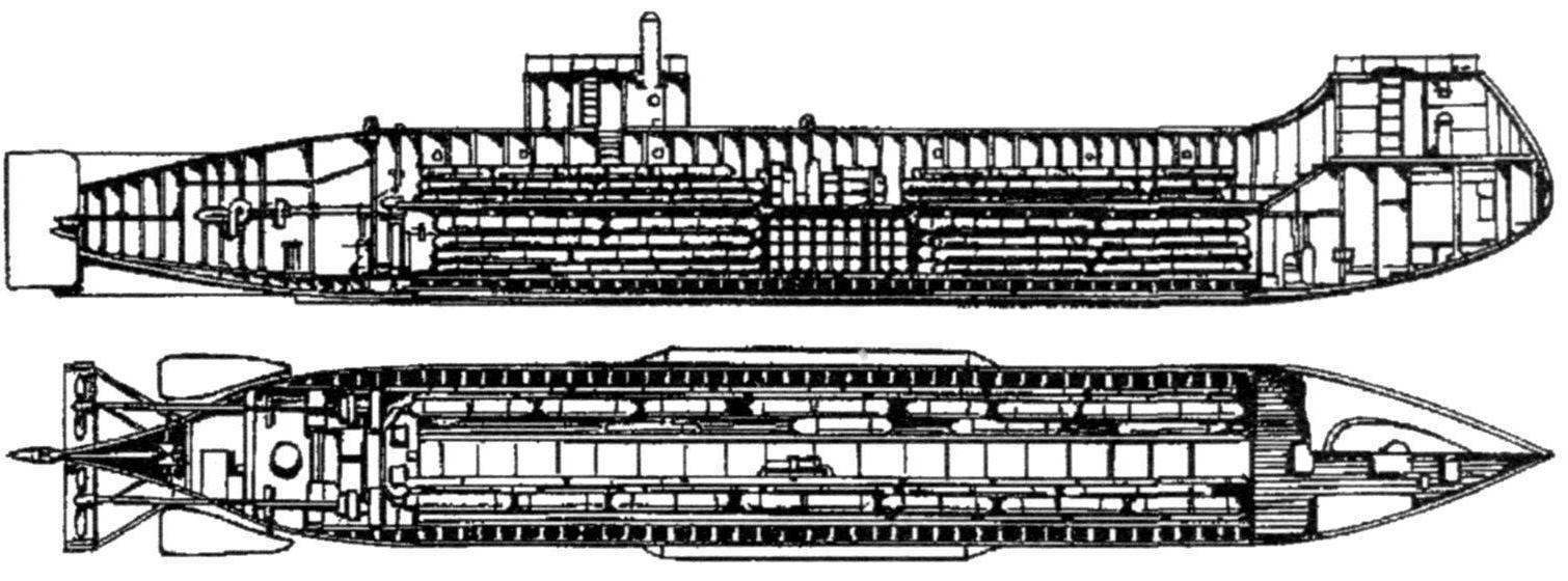 Подводная лодка И.Ф. Александровского. Россия, 1866 г.
