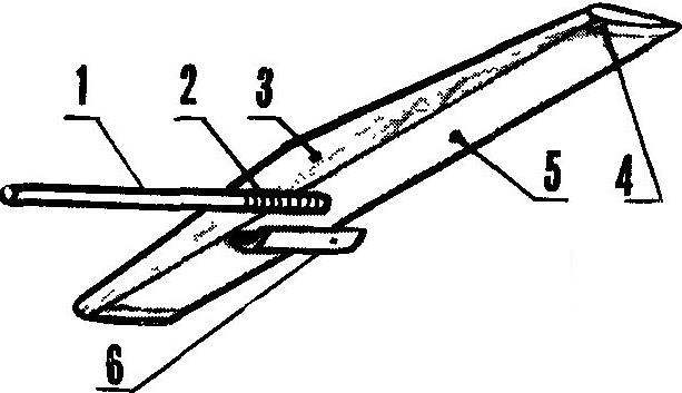Fig. 6. The tail part of the model.