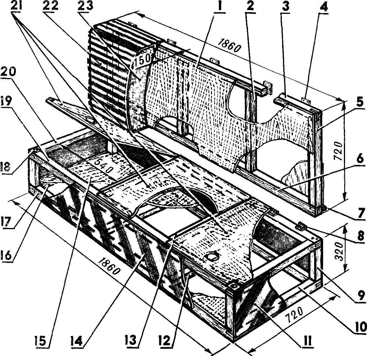 Fig. 1. Sofa-coupe.